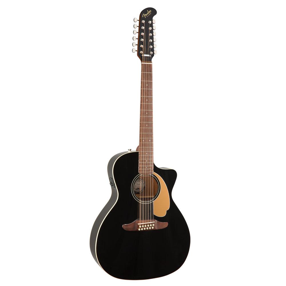 【信頼】 Fender Villager V3 12-String Walnut 12-String Fingerboard Black Fingerboard V3 12弦 エレクトリックアコースティックギター, カミサトマチ:877eeaf4 --- az1010az.xyz