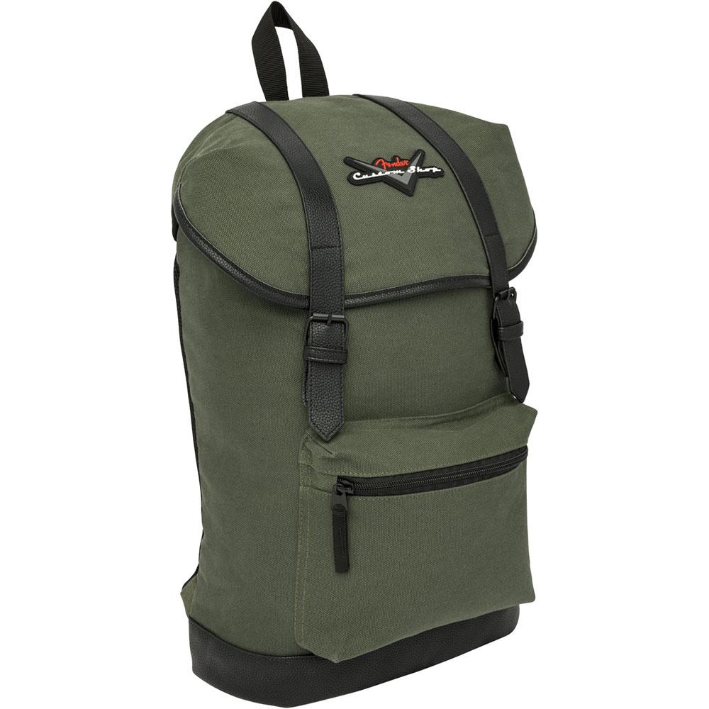 Fender Custom Shop Backpack Olive バックパック