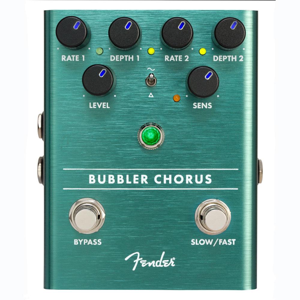 オリジナル Fender BUBBLER ANALOG CHORUS CHORUS ANALOG BUBBLER コーラス ギターエフェクター, トロフィーのファーストトロフィー:67f92028 --- totem-info.com