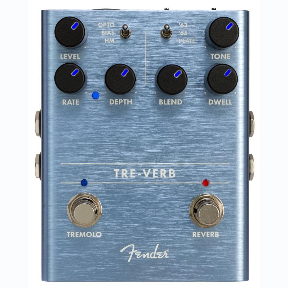 Fender TRE-VERB DIGITAL REVERB/TREMOLO ギターエフェクター