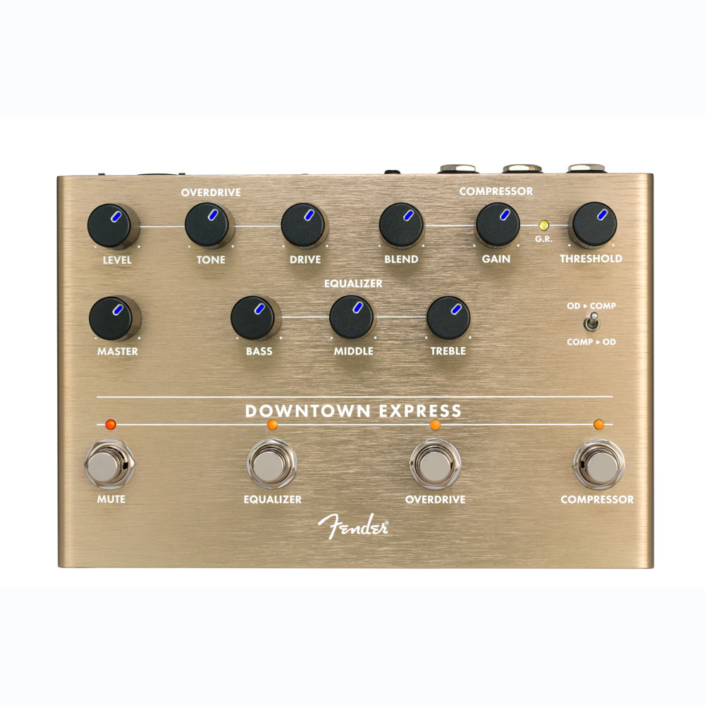 Fender DOWNTOWN EXPRESS BASS MULTI-EFFECT ベースエフェクター