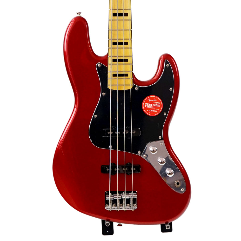 Squier Vintage Modified Jazz Bass '70s CAR エレキベース 【中古】