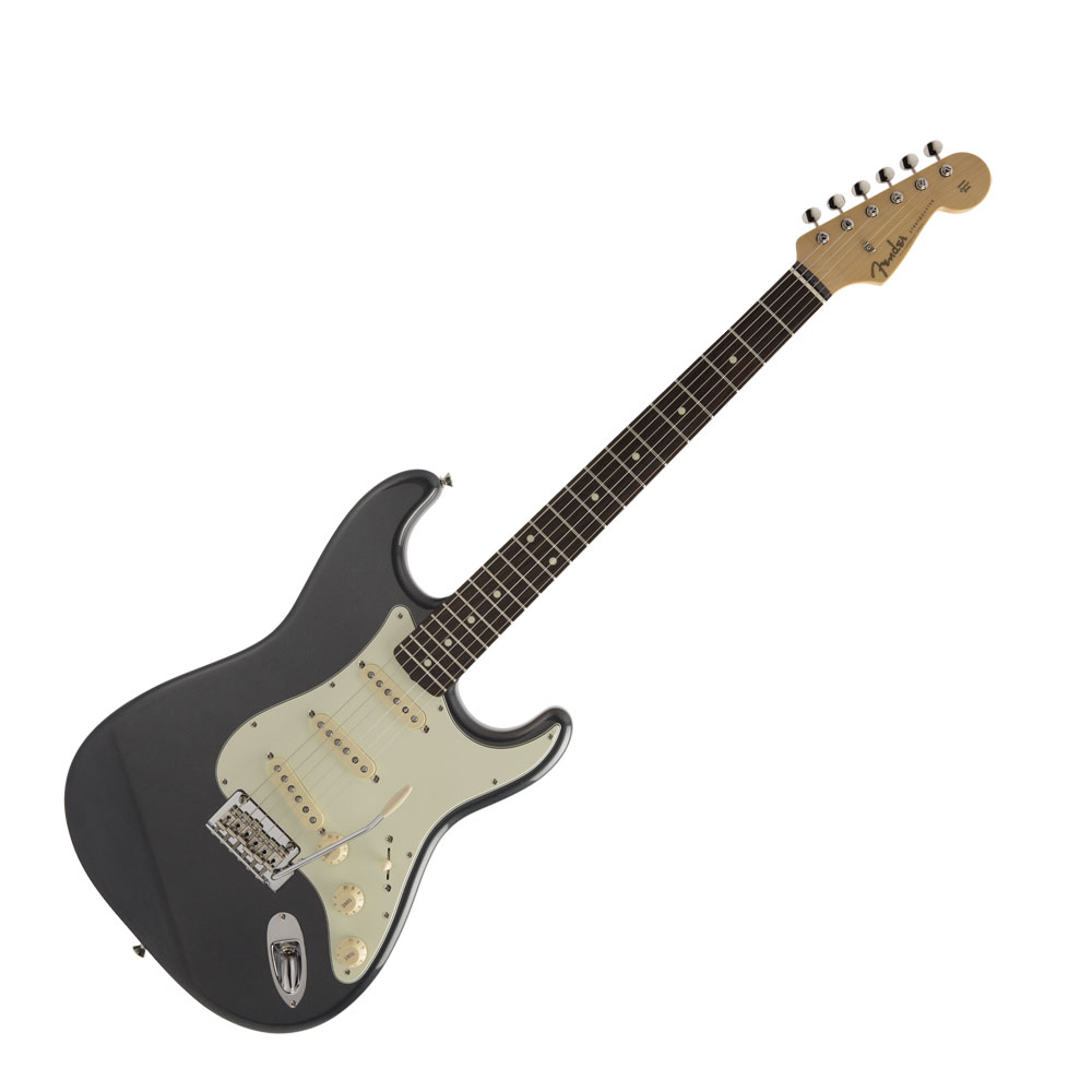 Fender Made in Japan Hybrid 50s Stratocaster Charcoal Frost Metallic エレキギター