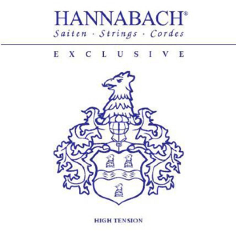 HANNABACH EXCLUSIVE HT ハードテンション クラシックギター弦