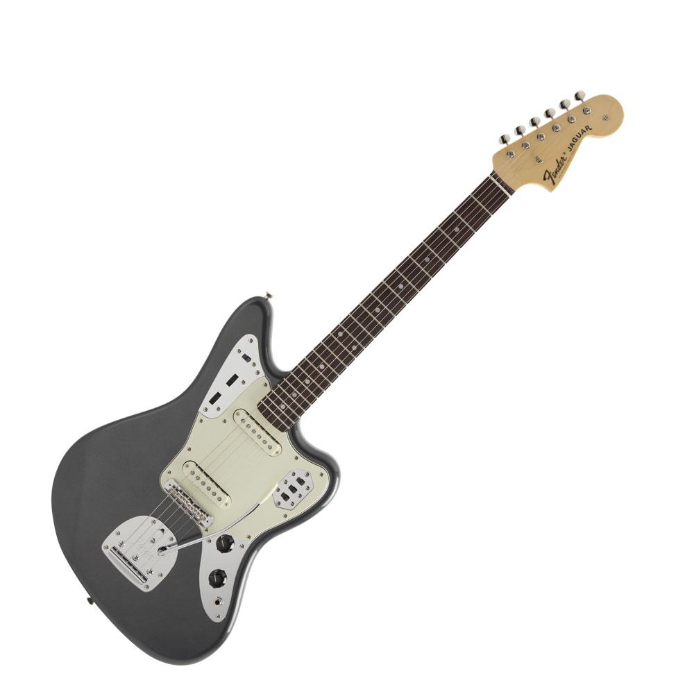 Fender Made in Japan Hybrid 60s Jaguar RW Charcoal Frost Metallic エレキギター