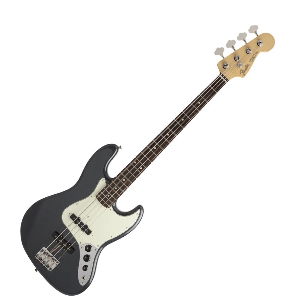 Fender Made in Japan Hybrid 60s Jazz Bass RW Charcoal Frost Metallic エレキベース