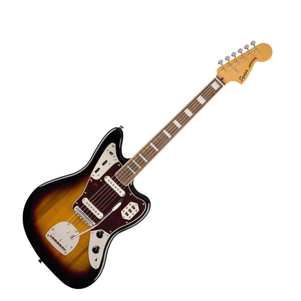 Squier Classic Vibe '70s Jaguar 3TS LRL エレキギター