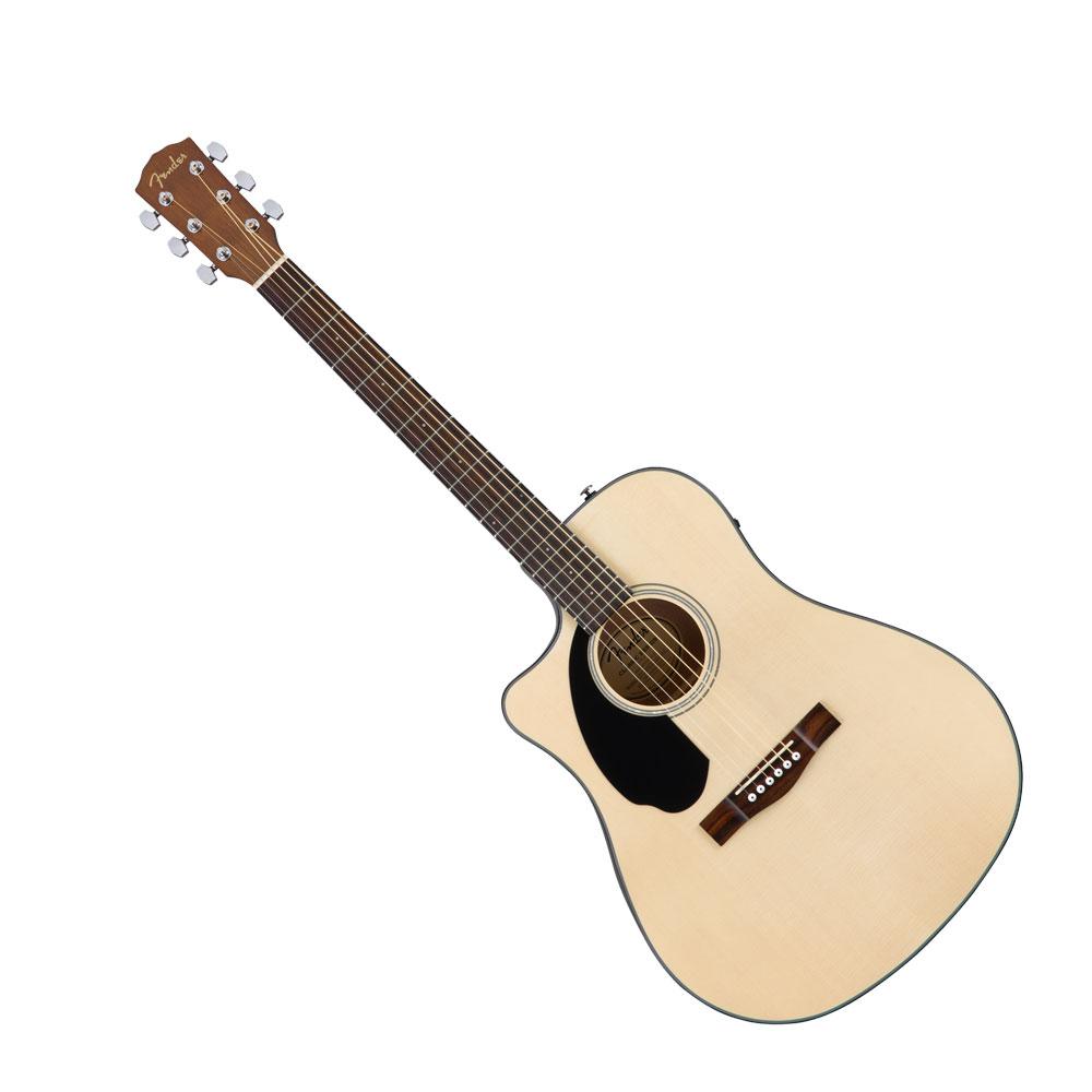 Fender CD-60SCE Dreadnought Left-Hand Natural WN エレクトリックアコースティックギター