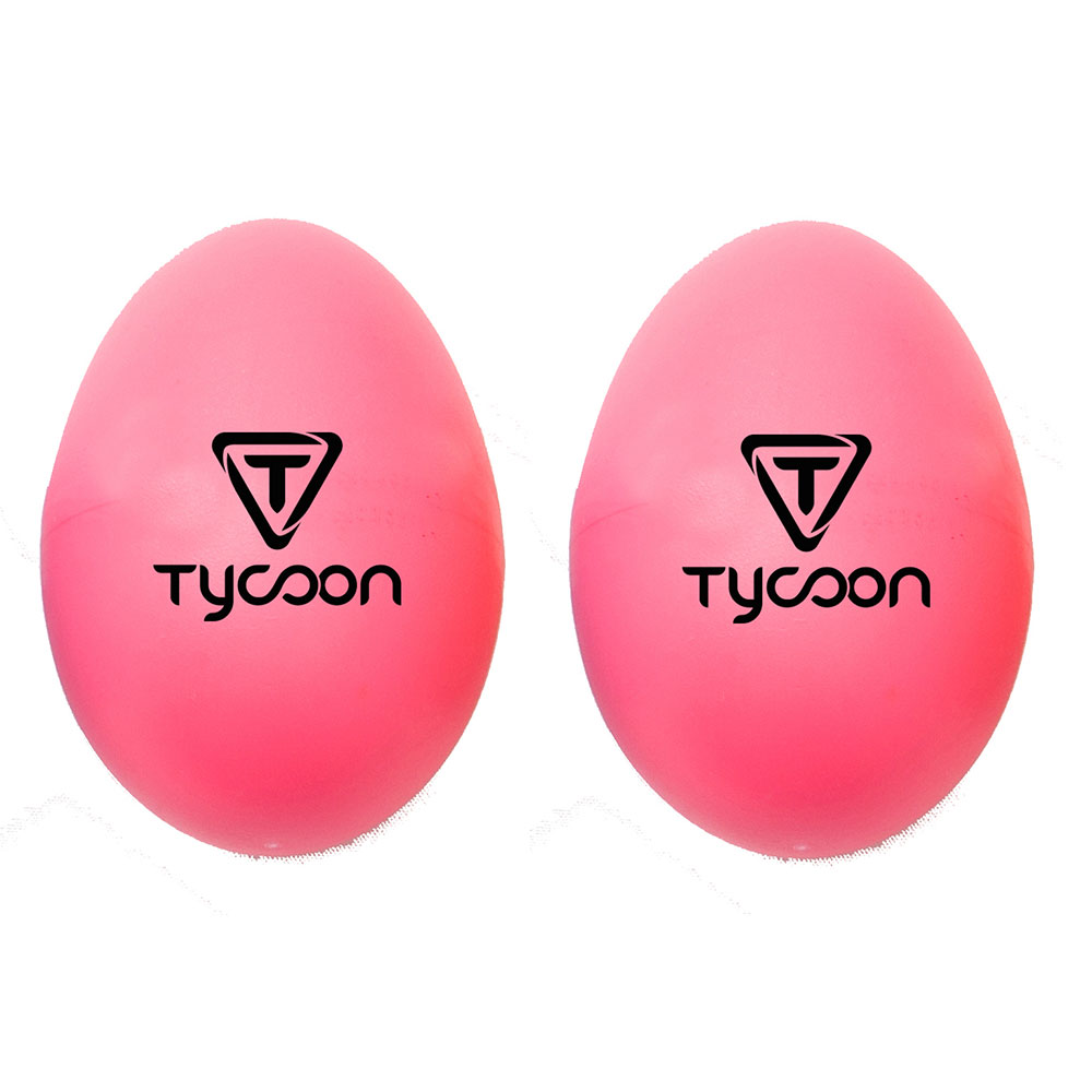 Yellow Tycoon Percussion Plastic Egg Shakers
