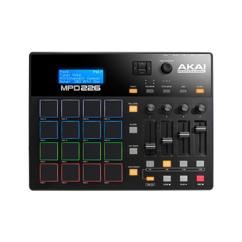 AKAI Professional MPD226 USB/MIDIパッドコントローラー