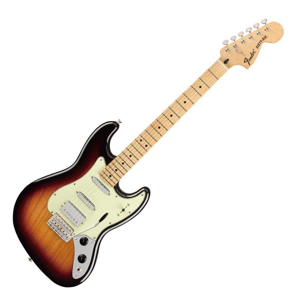Fender Alternate Reality Sixty-Six MN 3TS エレキギター