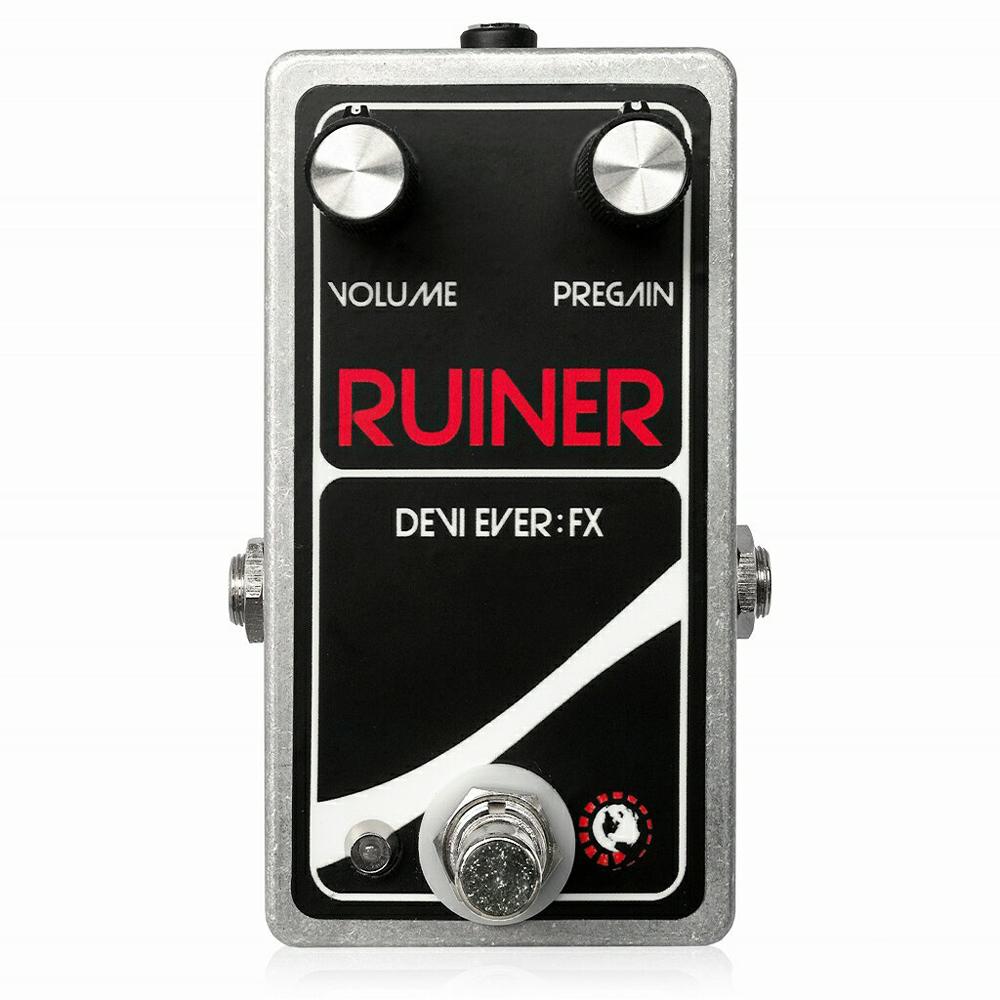 Devi Ever Ruiner ファズ ギターエフェクター