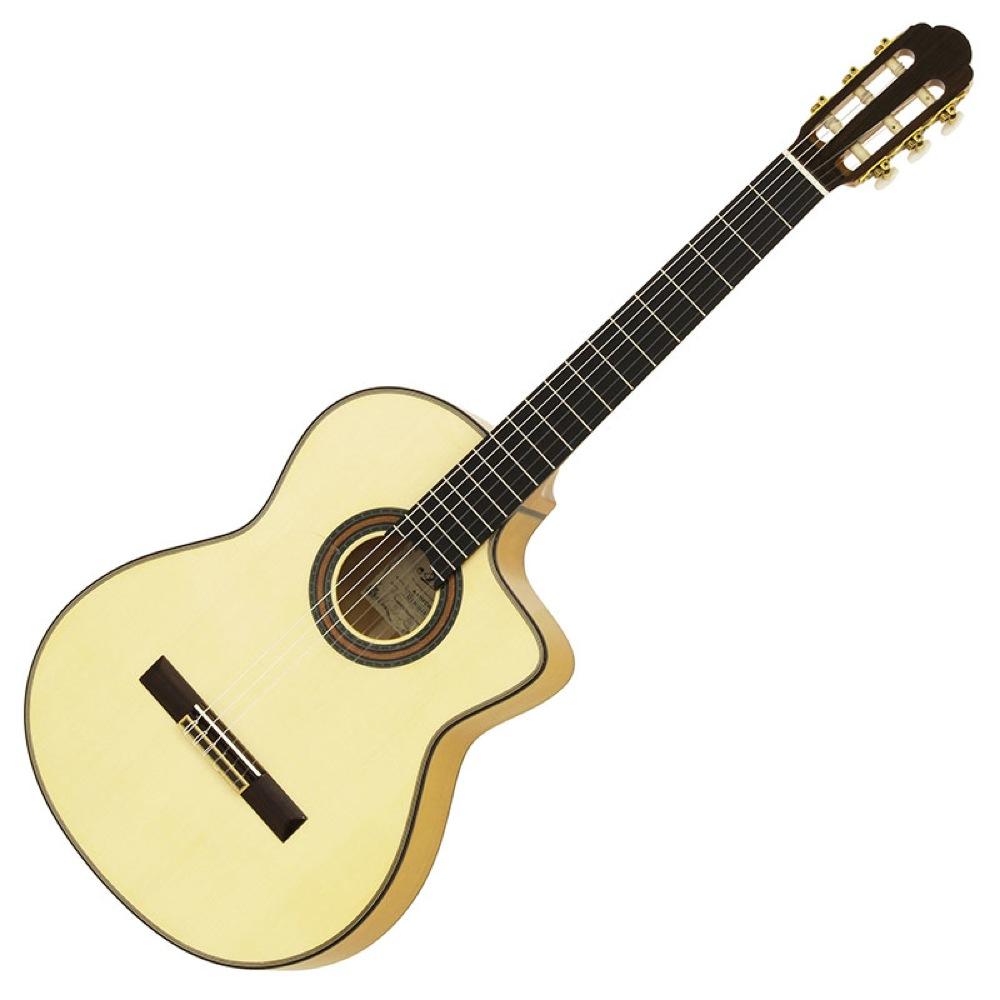 アリア エレガット 本格派フラメンコギター A-175F-CWE 男女兼用 ARIA 人気急上昇 エレクトリッククラシックギター