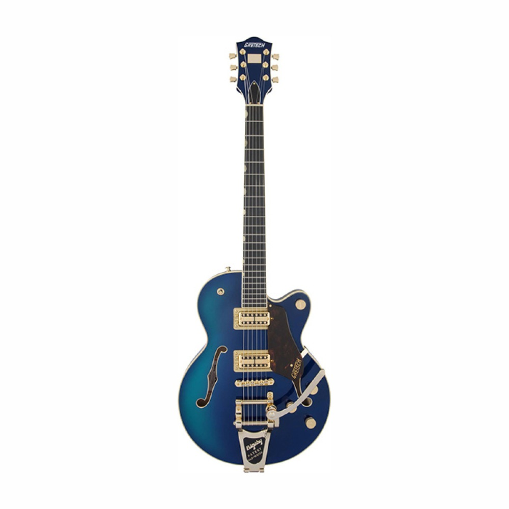 GRETSCH G6659TG Players Edition Broadkaster Jr. Center Block Single-Cut, Azure Metallic エレキギター