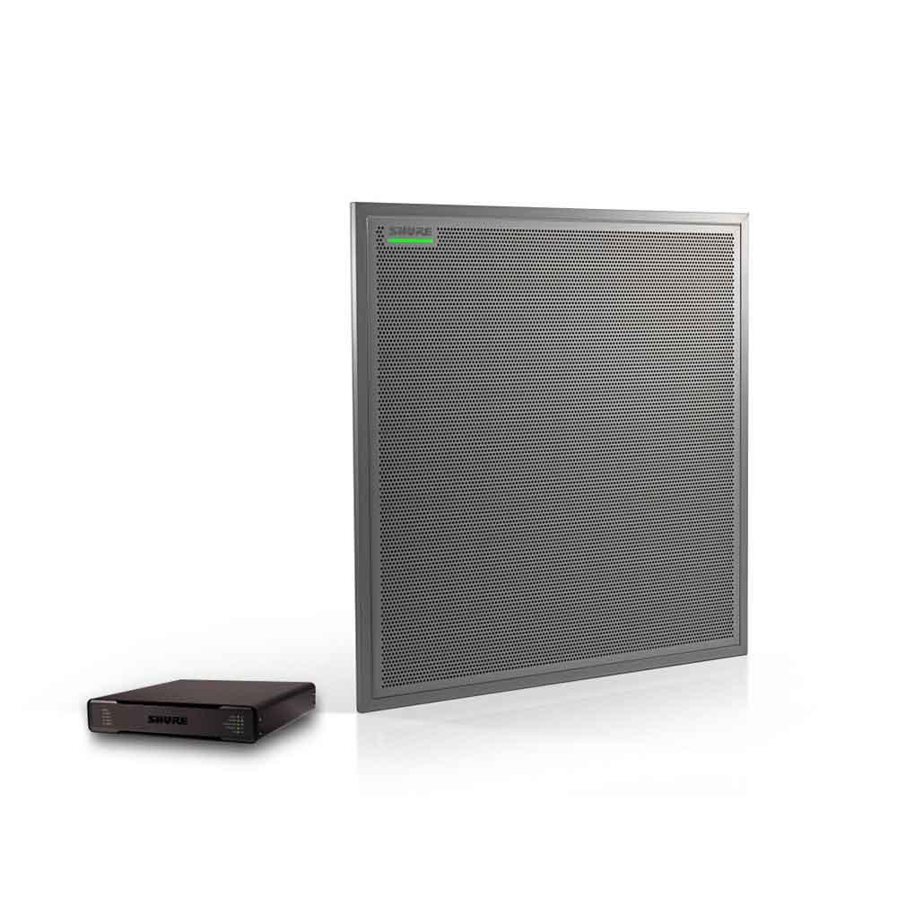 SHURE MXA910AL-60-P300-P オーディオ会議プロセッサー&シーリングアレイマイクロホン セット