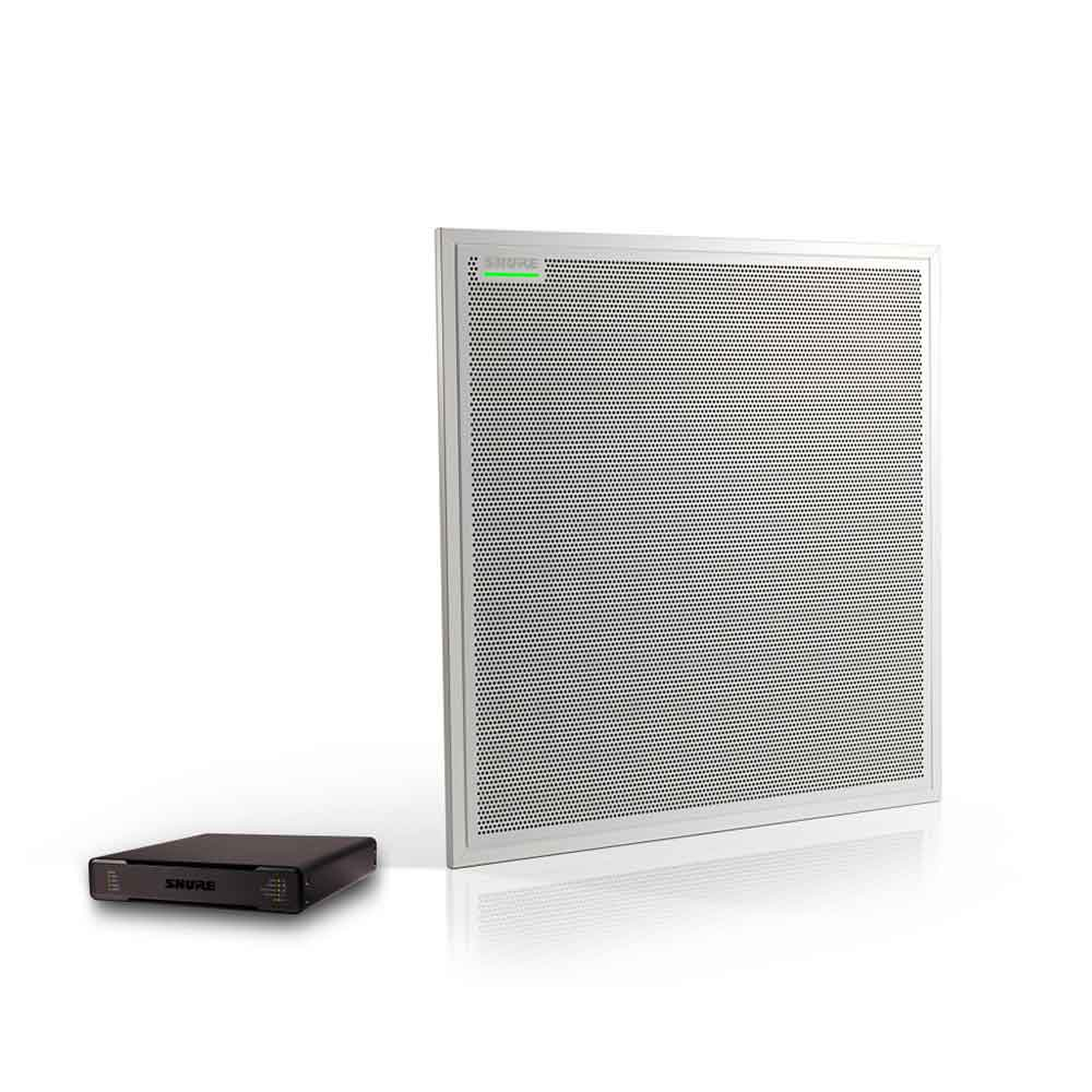 SHURE MXA910W-60-P300-P オーディオ会議プロセッサー&シーリングアレイマイクロホン セット