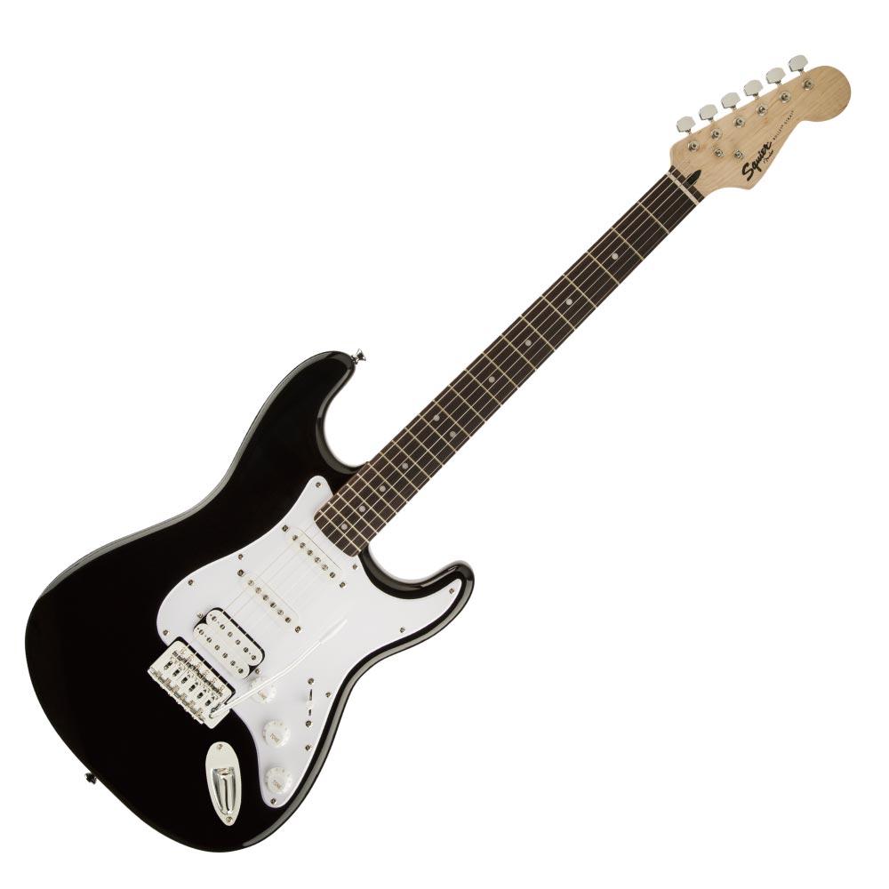Squier Bullet Strat with Tremolo HSS Laurel Fingerboard BLK エレキギター