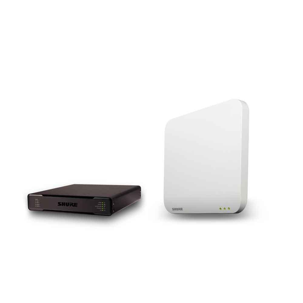 SHURE MXWAPT8-Z12+P300-P オーディオ会議プロセッサー&アクセスポイント・トランシーバー セット