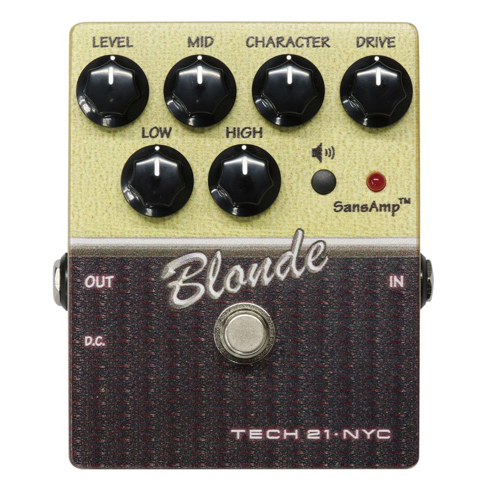 TECH21 SansAmp Blonde CS-BL-V2 アンプシミュレーター ギターエフェクター