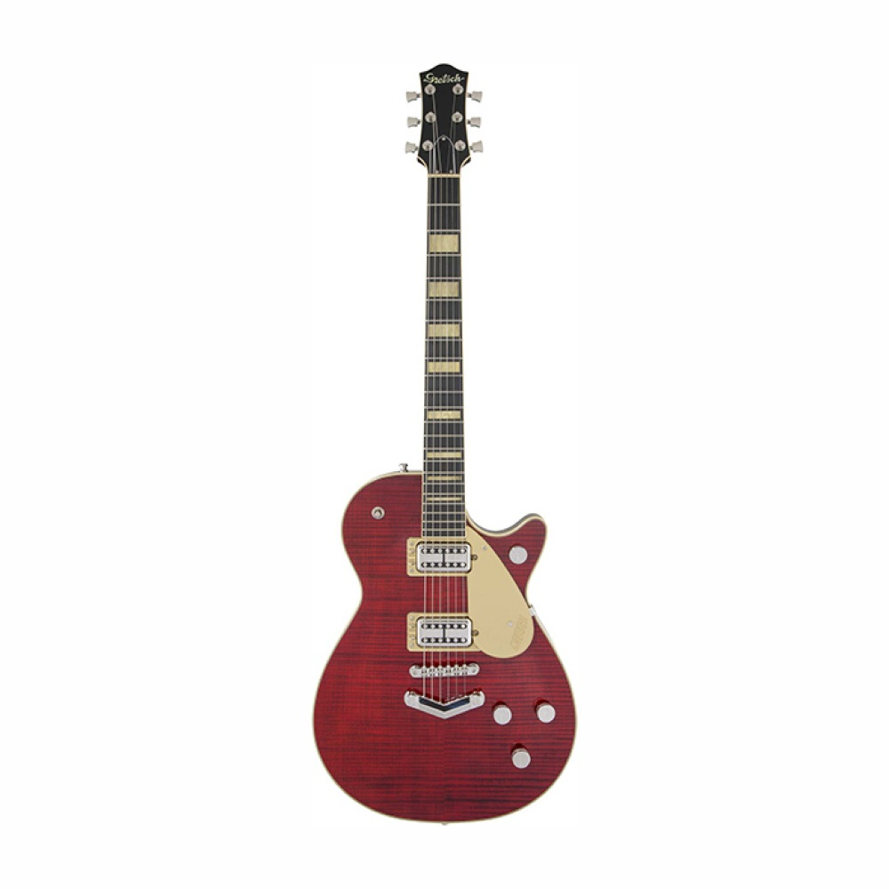 GRETSCH G6228FM Players Edition Jet BT with V-Stoptail Crimson Stain エレキギター