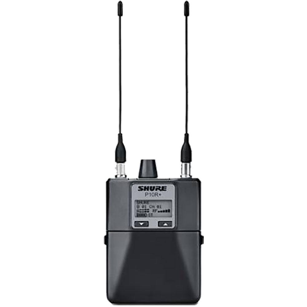 SHURE P10R+-J8J ワイヤレス・イヤー・モニター・システム ボディーパック型受信機