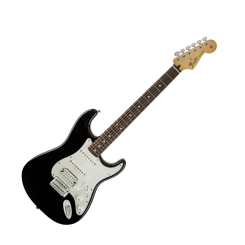 Fender Standard Stratocaster Stratocaster HSS Rosewood Black Fingerboard Black Standard エレキギター, キタグン:f70dbc0c --- coamelilla.com