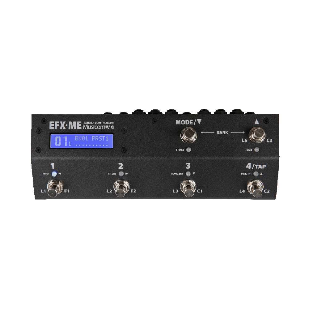 Musicom LAB EFX-ME MIDIコントローラー