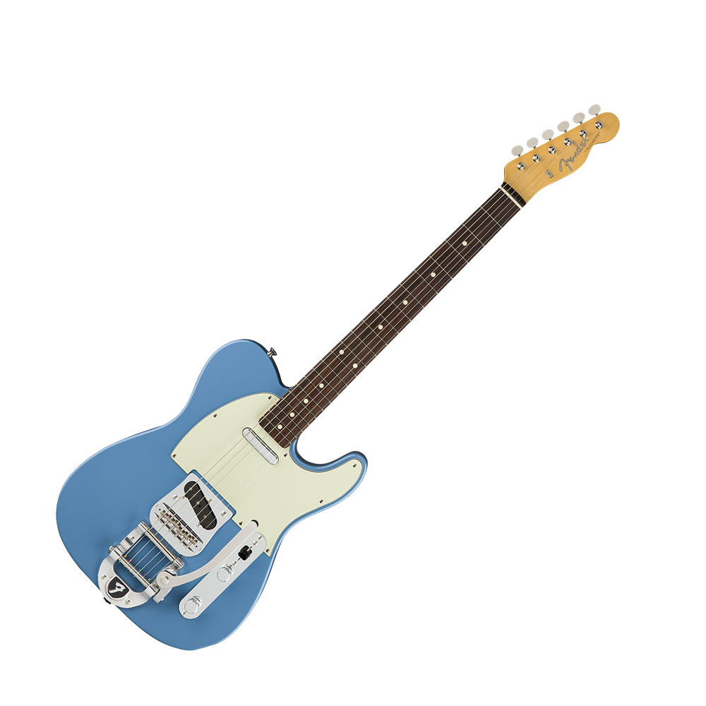 Fender Limited Edition Made in Japan Traditional 60s Telecaster Bigsby Rosewood Fingerboard Candy Blue エレキギター
