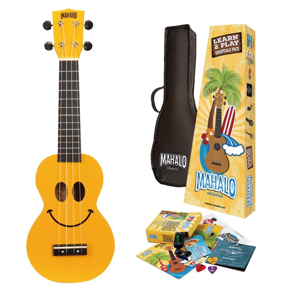 MAHALO Learn 2 Play Pack U-SMILE YWK ソプラノウクレレ 入門セット