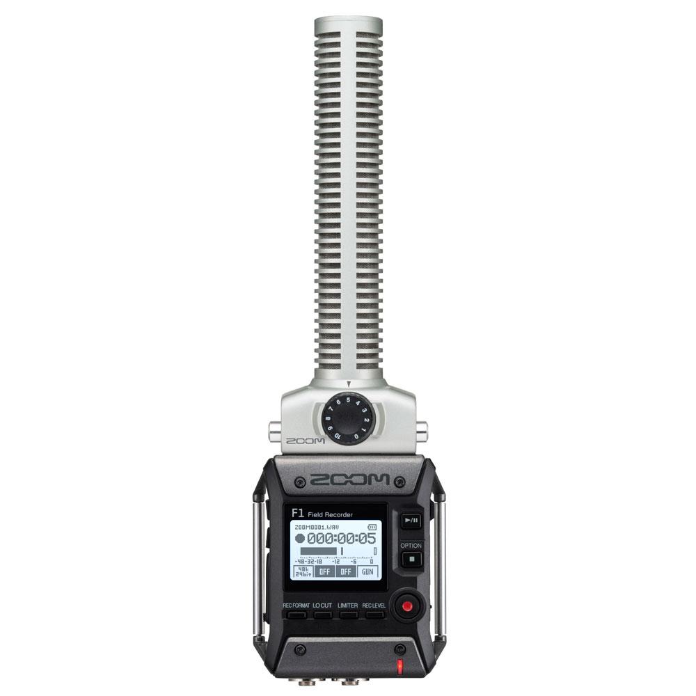 ZOOM F1-SP フィールドレコーダー ショットガンマイクパック