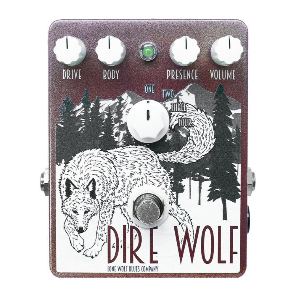 Lone Wolf Blues Company Dire Wolf ハープ用ディストーションペダル