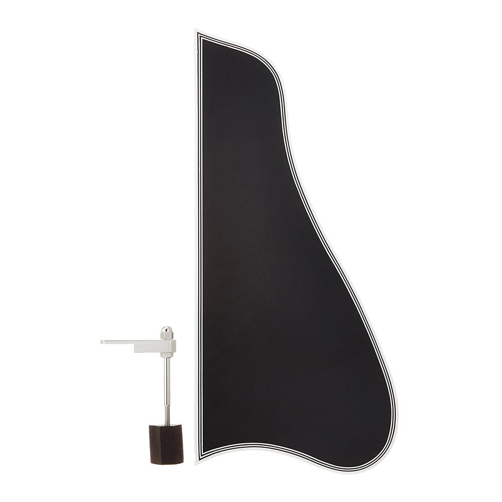 SCUD ATPGB-L アーチトップギター用 ピックガード ラージ ブラック ブラケット付
