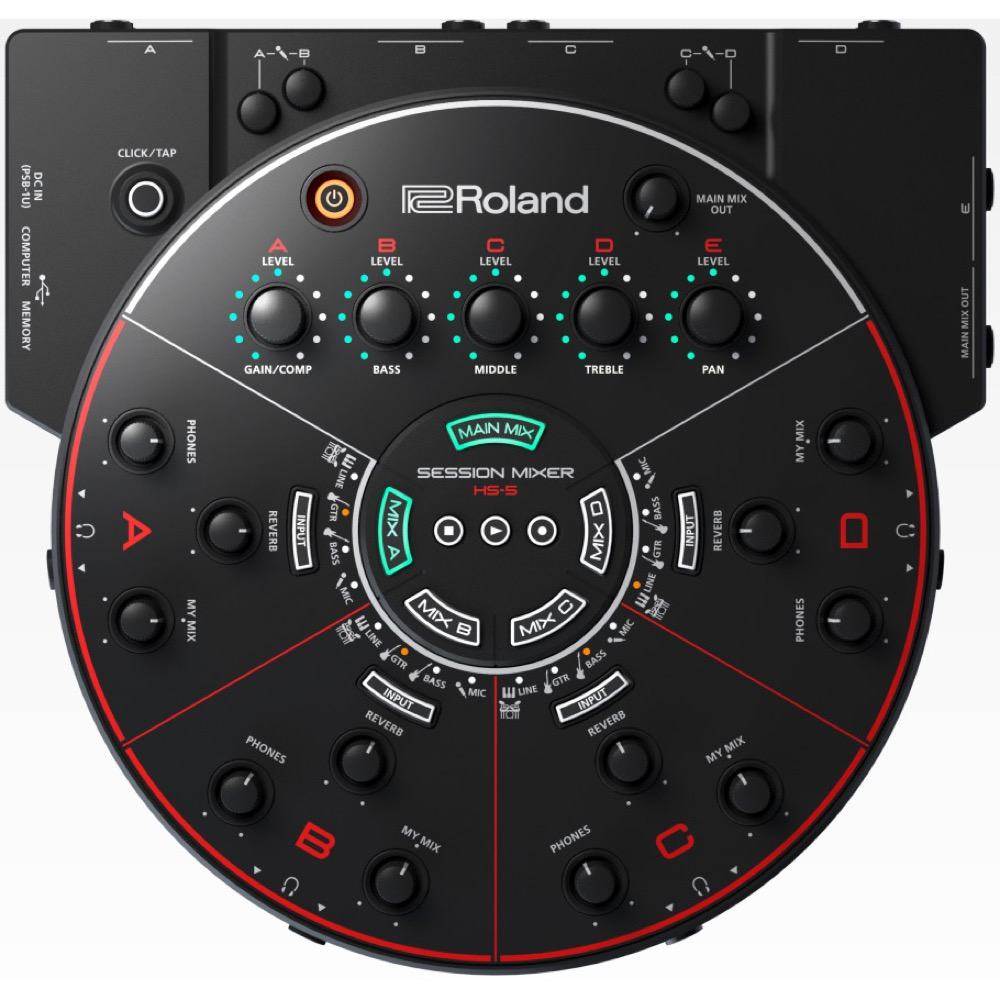 ROLAND HS-5 Session Mixer セッションミキサー