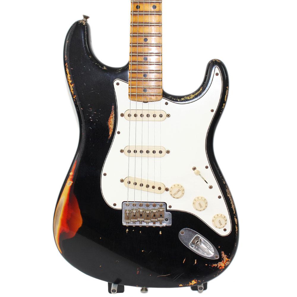 Fender Custom Shop 2011 MBS 1959 Stratocaster Heavy Relic Maltirayer Black Master Built by Yuriy Shishkov 【中古】