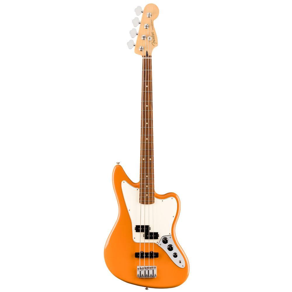 Fender Player Jaguar Bass PF Capri Orange エレキベース