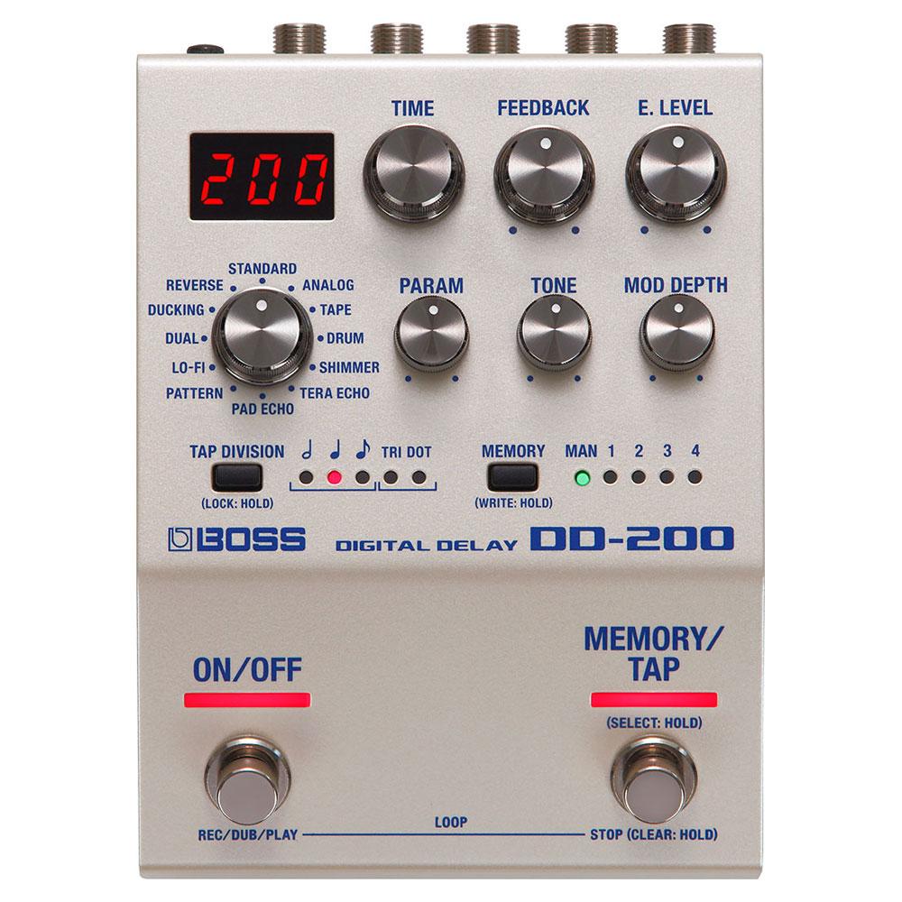 BOSS DD-200 DIGITAL DELAY デジタルディレイ ギターエフェクター