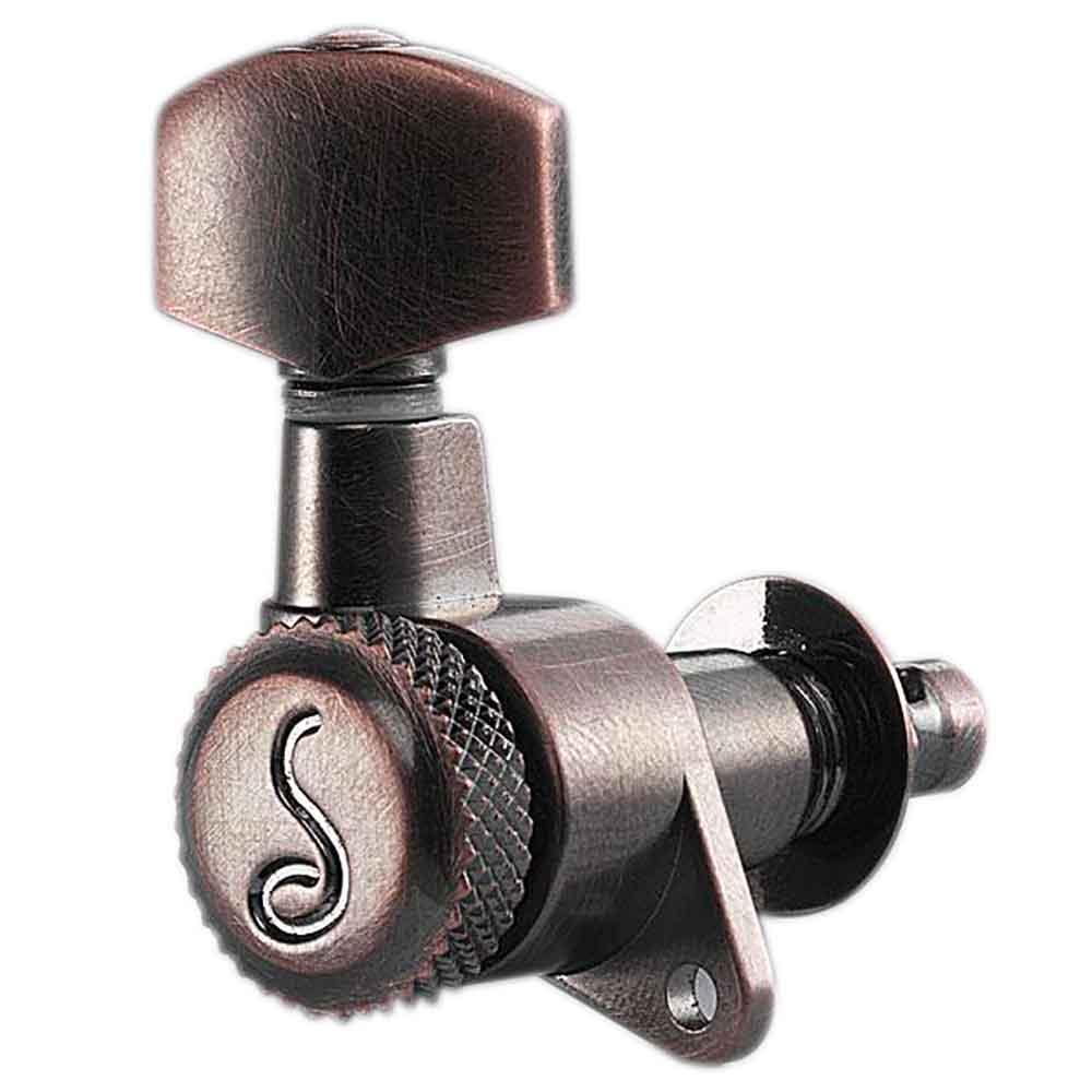 SCHALLER M6 135 Locking VC 6L ギター用ペグ 6個セット