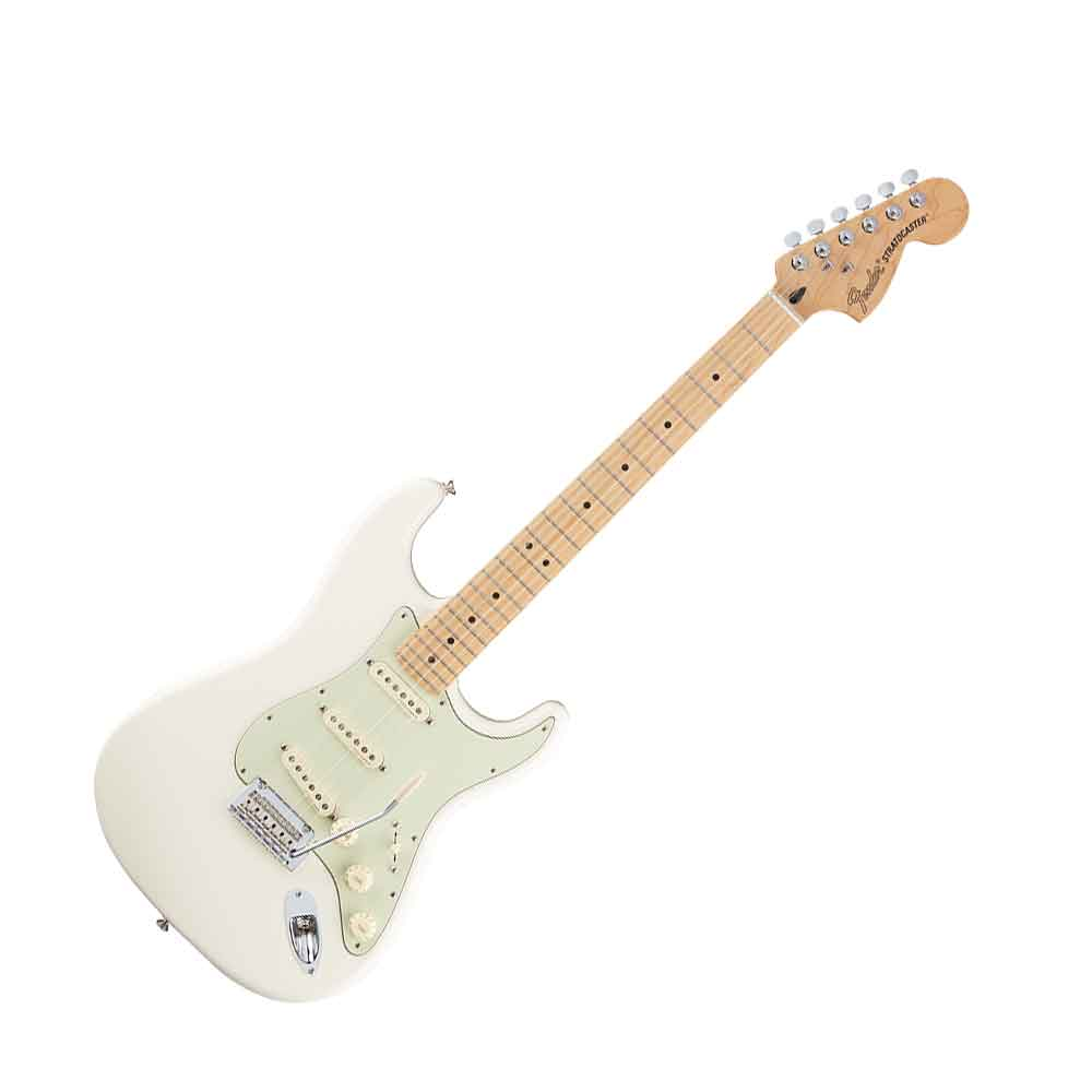 Fender Deluxe Roadhouse Stratocaster Maple Fingerboard Olympic White エレキギター