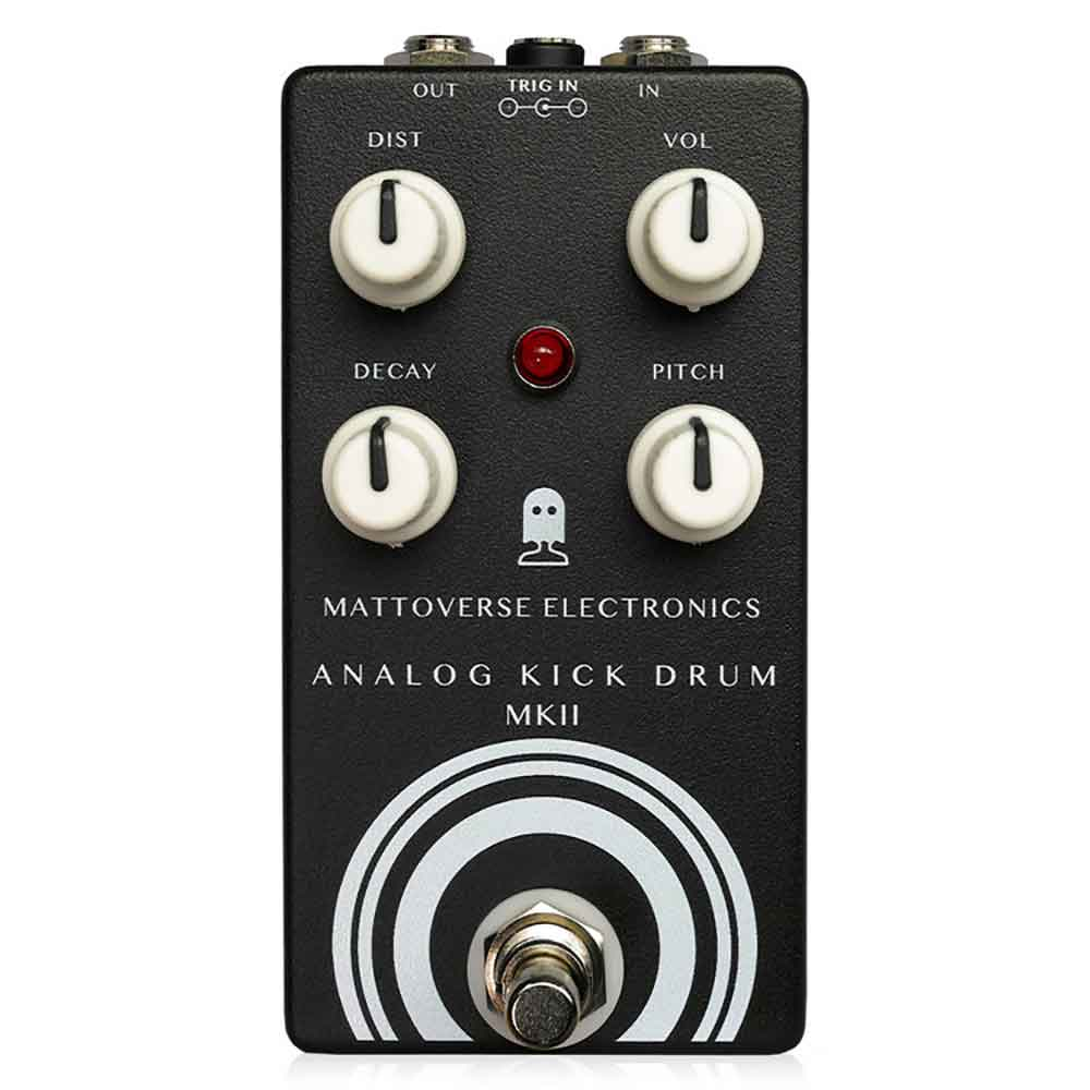 Mattoverse Electronics Analog Kick Drum MKII ギターエフェクター