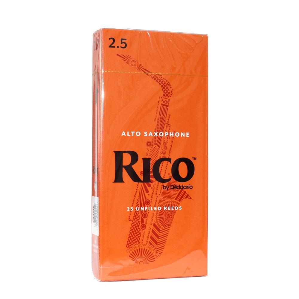 D'Addario Woodwinds/RICO RJA2525 リコ アルトサクソフォン リード 2.5 25枚入