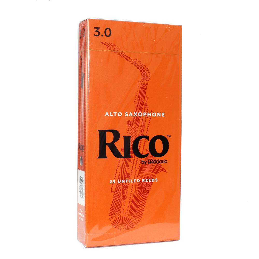 リコ アルトサックス用リード 3 大注目 D'Addario 激安 激安特価 送料無料 Woodwinds RJA2530 RICO リード アルトサクソフォン 25枚入