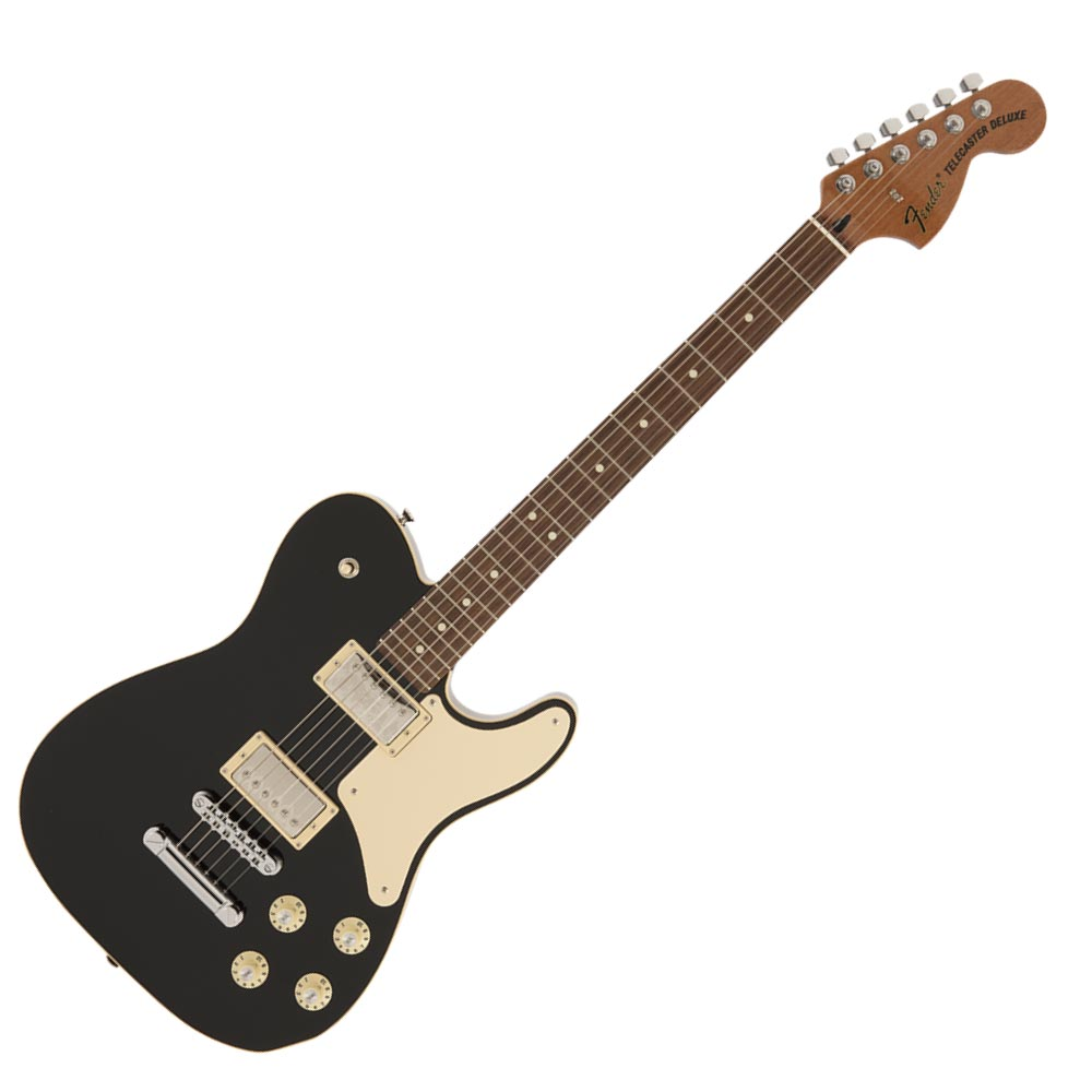 Fender Made in Japan Troublemaker Telecaster RW BLK エレキギター