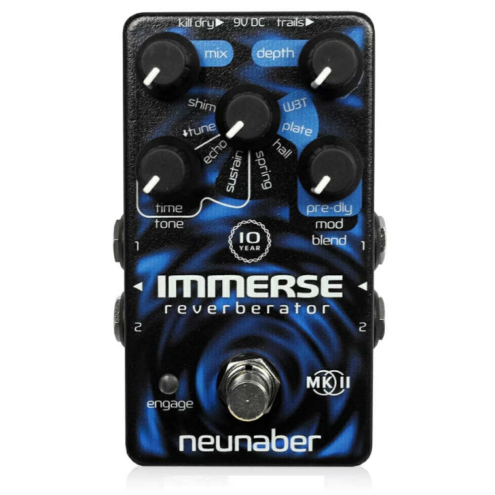 Neunaber Audio Effects 10-YEAR IMMERSE MK II リバーブ ギターエフェクター