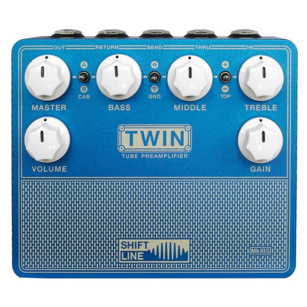 Shift Line TWIN MkIIIS ギター用プリアンプ エフェクター