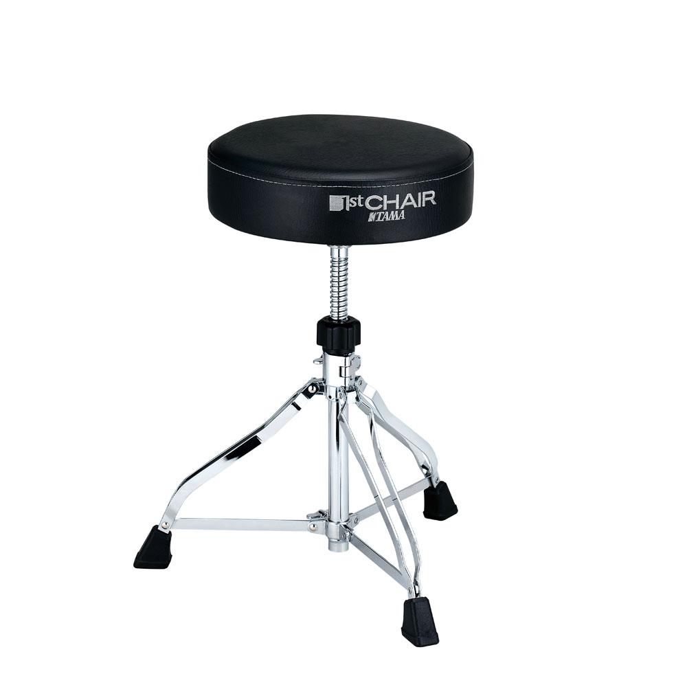 タマ ラウンドシート 3脚ダブルレッグ ドラム椅子 TAMA HT230 1st Chair ラウンドシート ドラムスローン