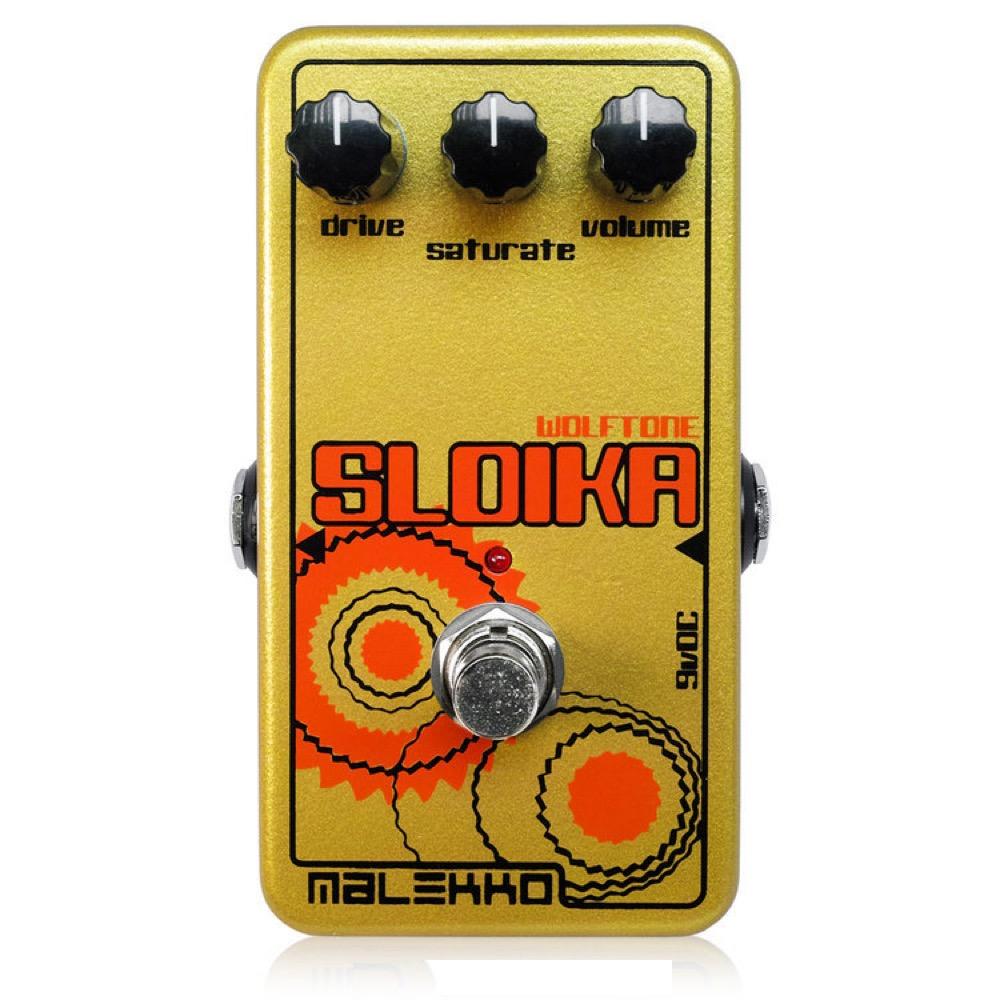 Malekko Heavy Industry SLOIKA MkII ディストーション ギターエフェクター