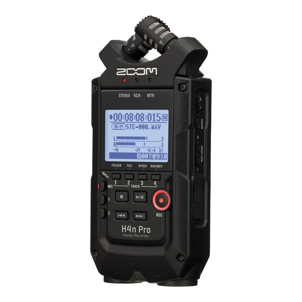 ZOOM H4n Pro ALL Black Editon ハンディーレコーダー