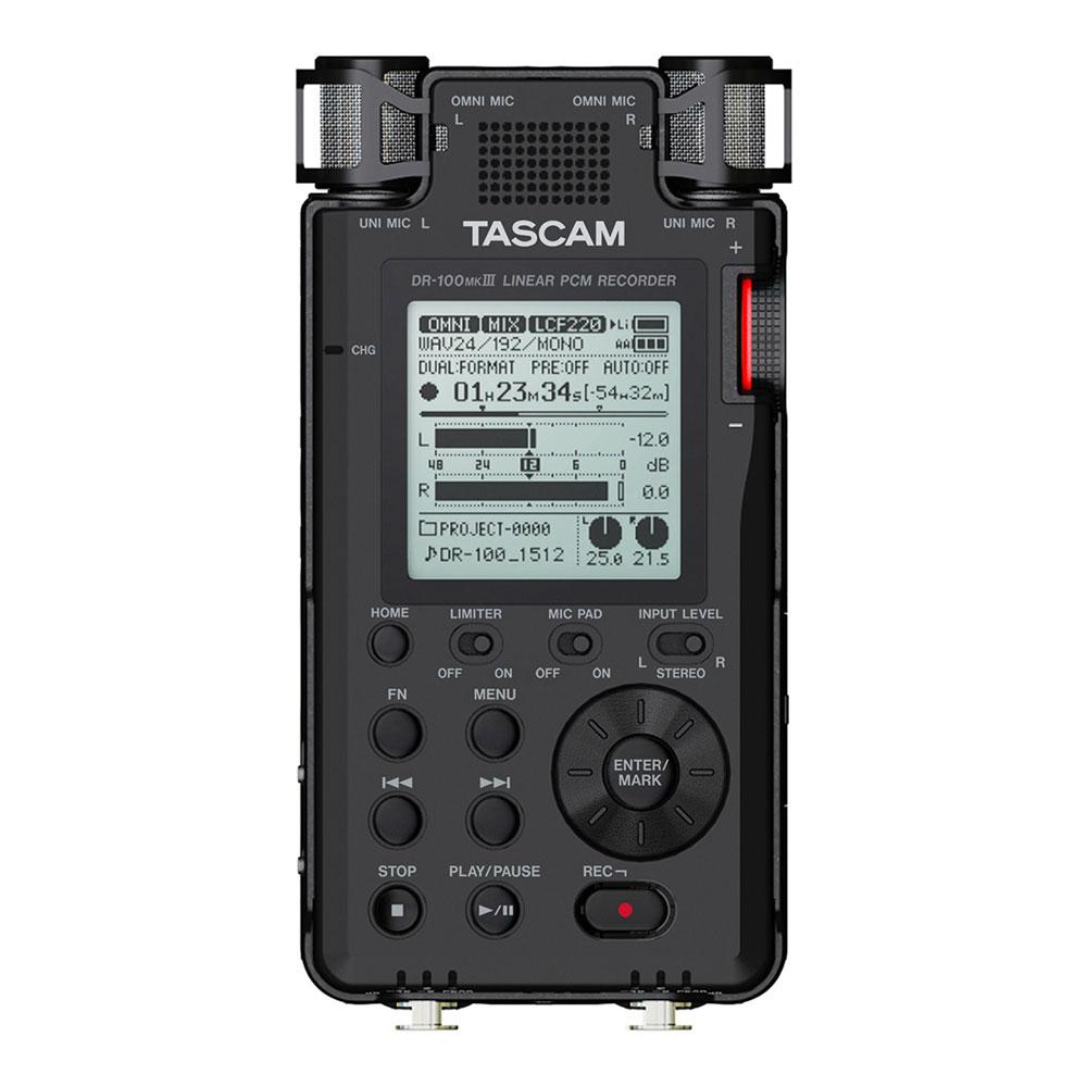 TASCAM DR-100MKIII リニアPCMレコーダー