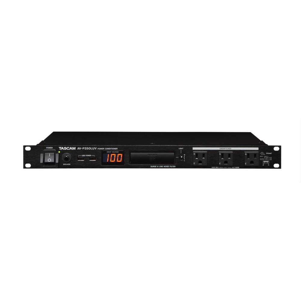 TASCAM AV-P250LUV パワーディストリビューター コンディショナー