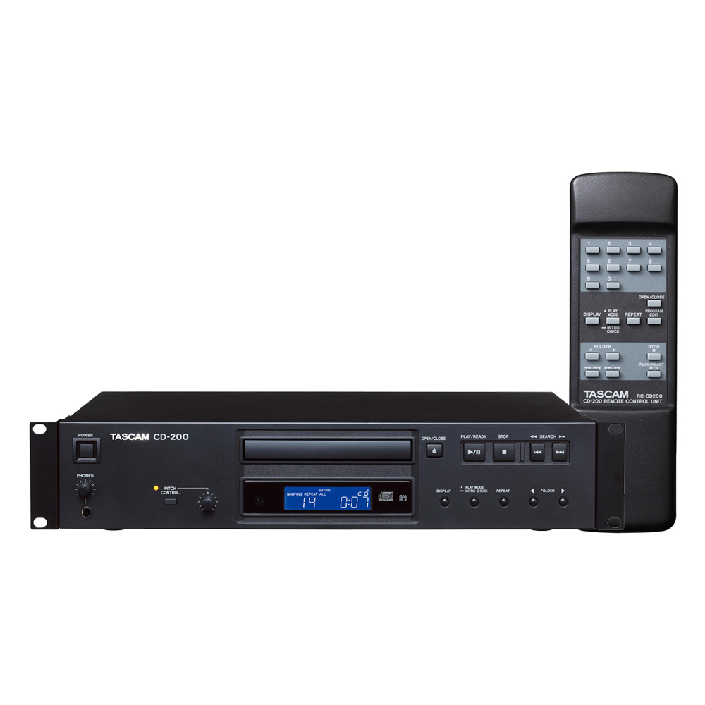 TASCAM CD-200 業務用 CDプレーヤー